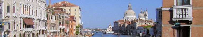 Venice Travelogue Banner